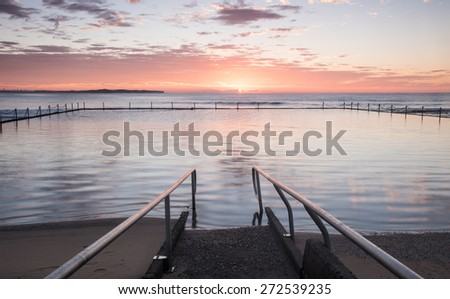 Ocean Pool - stock photo