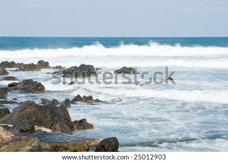 Ocean view - stock photo