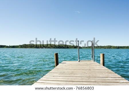 Ocean view - stock photo