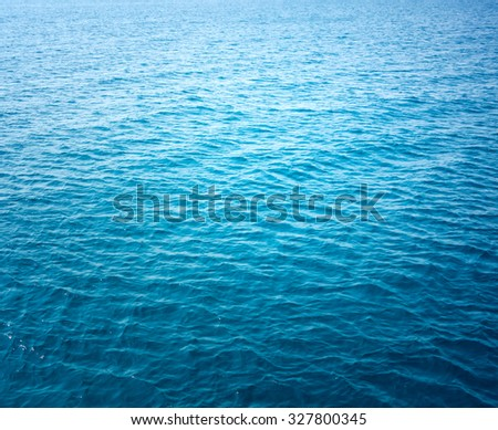 ocean water background - stock photo