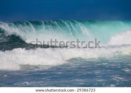 ocean wave - stock photo