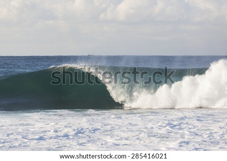 Ocean Wave Ocean Wave crashing hollow blue water power beauty of nature