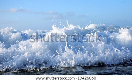 ocean waves - stock photo