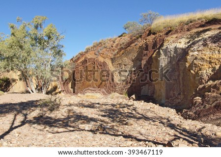 Ochre Pits, West MacDonnell National Park, Northern Territory, Australia