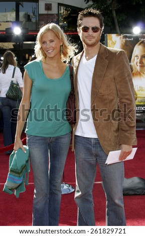 "October 9, 2005 - Erin Bartlett and Oliver Hudson at the ""Dreamer"" Los Angeles Premiere at the Mann Village TheatreWestwood, California United States."