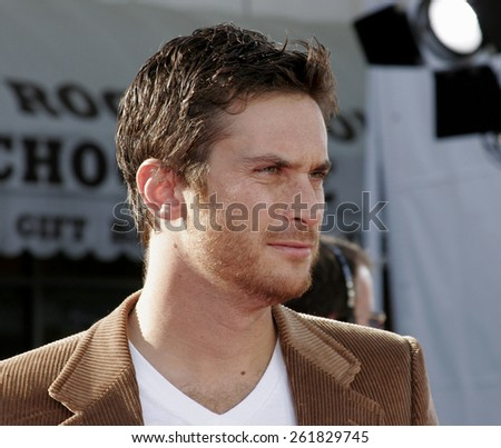 "October 9, 2005 - Oliver Hudson at the ""Dreamer"" Los Angeles Premiere at the Mann Village TheatreWestwood, California United States. - stock photo"