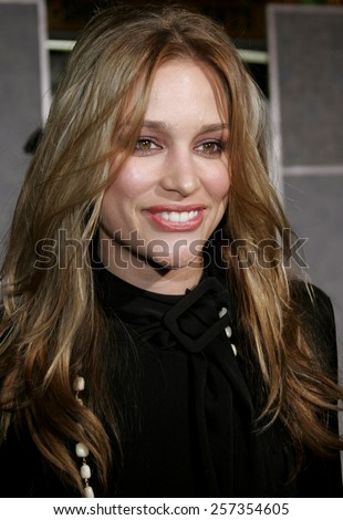 "October 17, 2006. Piper Perabo attends the World Premiere of ""The Prestige"" held at the El Capitan Theatre in Hollywood, California United States.  - stock photo"