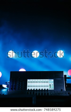 ODESSAUKRAINE-2 AUGUST2017Big professional stage lighting mixer panel with & Moscow 12 February2017 Professional Concert Lighting Stock Photo ... azcodes.com
