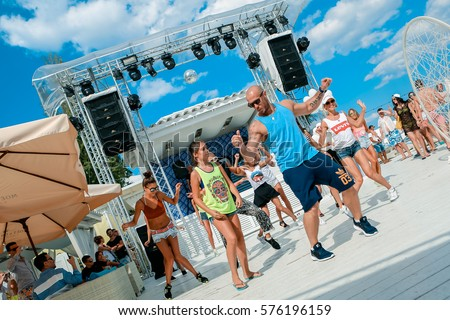 stock photo odessa ukraine july afternoon dance show during beach party in luxury complex young men 576196159 Getting a Sugar Daddy - Recommendations For Sugar Babies
