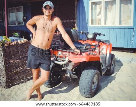 man woman hot quads