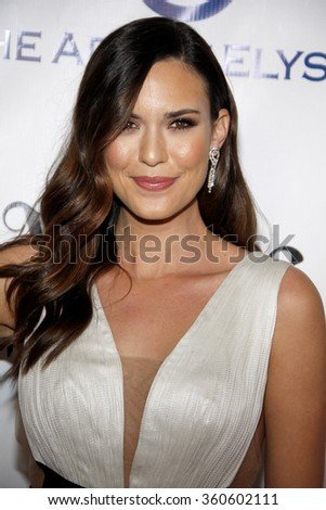 Odette Annable at the Art Of Elysium's 9th Annual Heaven Gala held at the 3LABS in Culver City, USA on January 9, 2016.