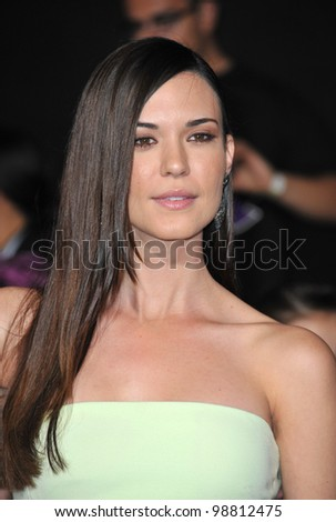 "Odette Annable at the world premiere of ""The Hunger Games"" at the Nokia Theatre L.A. Live. March 12, 2012  Los Angeles, CA Picture: Paul Smith / Featureflash"