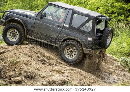 Offroad Cars Show Great Charity Stock Photo Shutterstock - Car show barriers