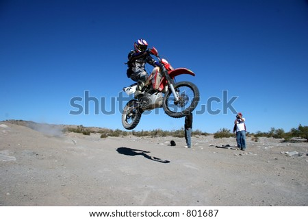 off-road race - stock photo