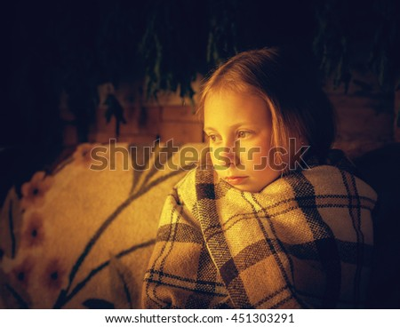 Offended at all bored teenager. - stock photo