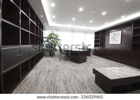 Office, boss, nobody - stock photo
