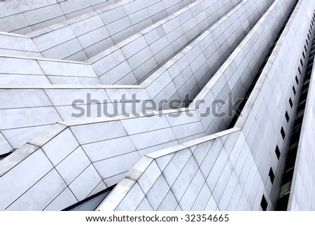 Office building - Abstract architectonic background - stock photo