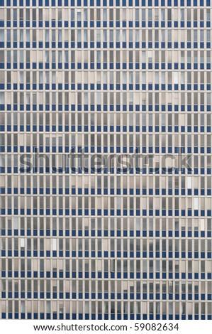 Office building facade - stock photo