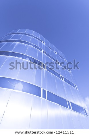Office building from below