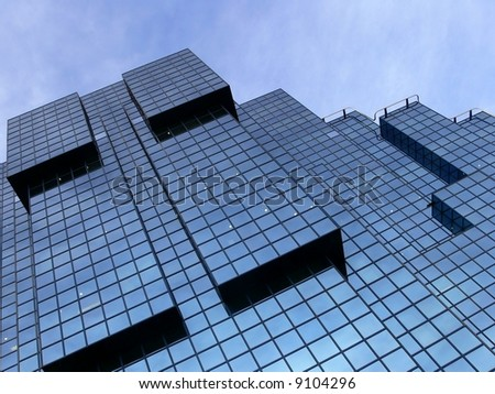 Office Building, London, UK - stock photo