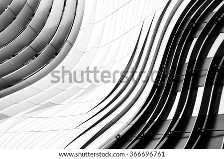 office building window glass abstract pattern use for background - stock photo