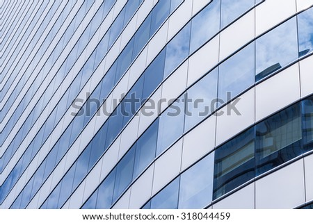 office building window glass use for background