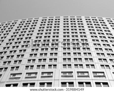 Office building windows  - stock photo