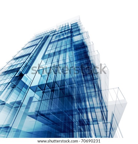 Office center - stock photo