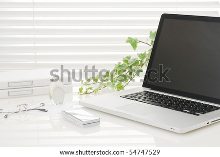 Office disk - stock photo