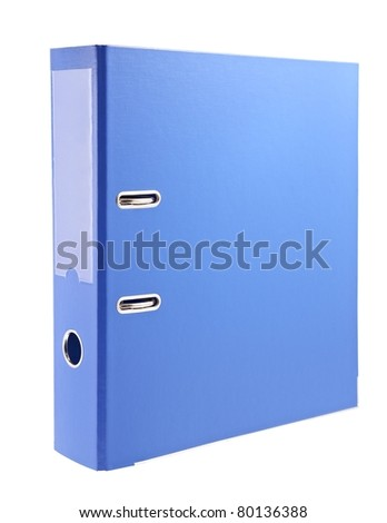 Office folder - stock photo
