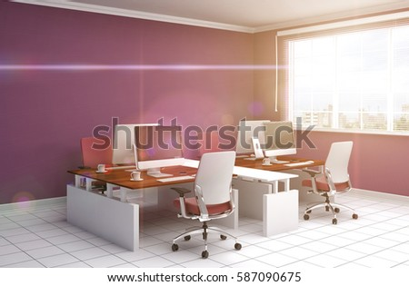 Modern Office Furniture Stock Images Royalty Free Images