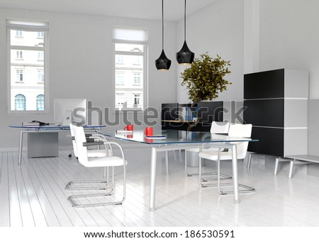 Office interior / Meeting room - stock photo