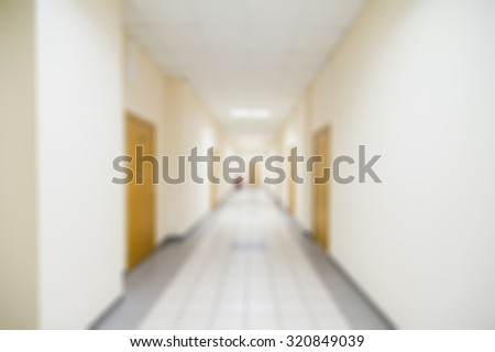 Office interior theme creative abstract blur background with bokeh effect