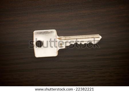 Office key - stock photo