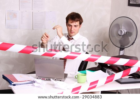 Office life - businessman