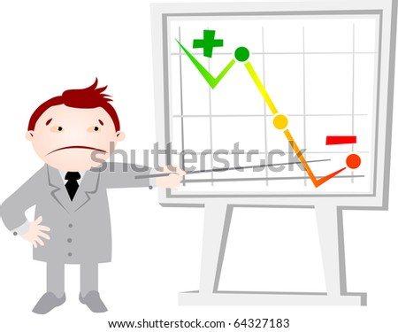office life crisis - stock photo