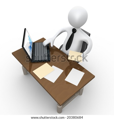 Office Moment - stock photo