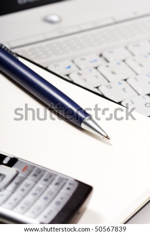 office place - stock photo