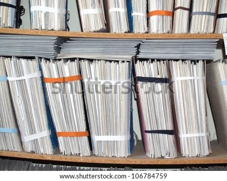 Office Shelves - stock photo
