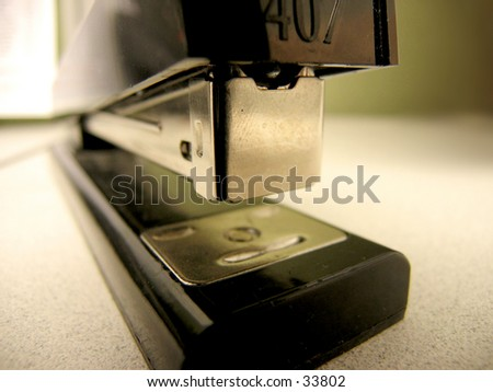 Office Stapler - stock photo