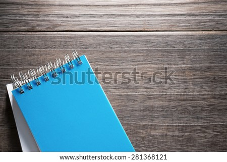 Office supplies.Office desk table with supplies - stock photo
