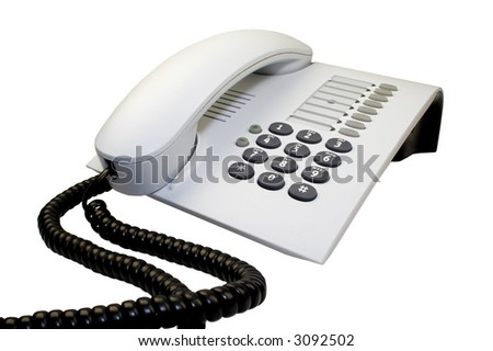 Office telephone.