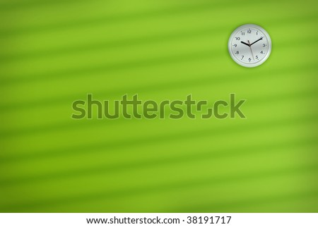 Office Wall Clock - stock photo