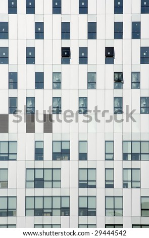Office window building - stock photo