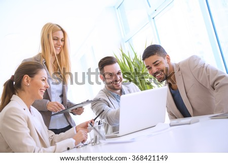 Office work - stock photo