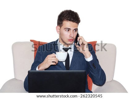 Office Worker - stock photo