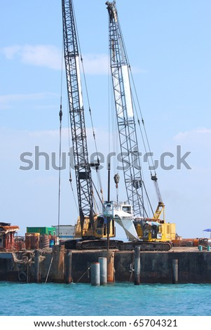 Offshore Drilling - stock photo