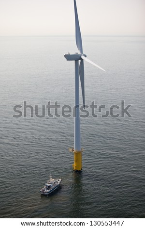 Offshore wind turbine maintenance
