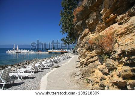 Ohrid, Macedonia - stock photo