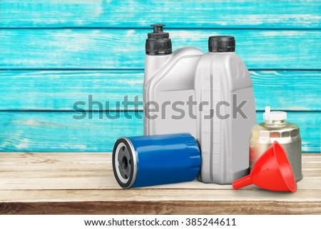 Oil. - stock photo